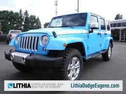 Cottage Grove Chrysler Dodge Jeep Ram by Jeep Wrangler Unlimited For Sale In Eugene Or Cars Com