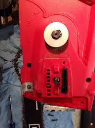 diagnosing oiling problems with the craftsman electric chainsaw
