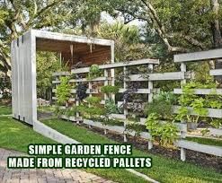 best 20 vegetable garden fence design pallets pallet fence