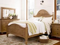 barnwood bedroom set set cool white framed bed dark brown accent
