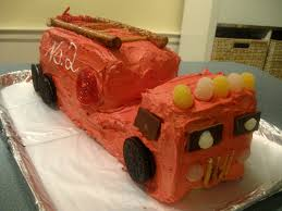 firetruck cake firetruck birthday cake recipes that fit