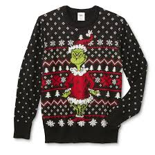 grinch christmas sweater grinch men s christmas sweater