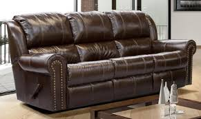 Grey Sofa Recliner Excellent Stylish Brown Leather Recliner Sofa Within Reclining