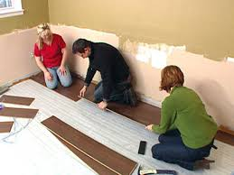 How To Lay Underlay For Laminate Flooring Install Laminate Flooring Hgtv