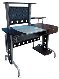 Black Glass Computer Desk Glass Computer Desk 4 U2014 Alert Interior Building Your Own Glass