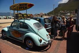 vintage surf car muizenberg cape town u0027s regenerated seaside suburb