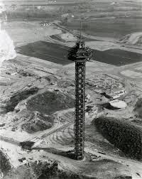 Goldrusher Six Flags Magic Mountain Scvhistory Com Mm0100 Magic Mountain Initial Construction Sky