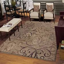 Stain Resistant Rugs Orian Rugs Plush Scroll Dakota Beige Area Rug Available In