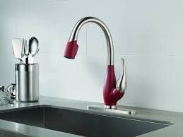 kitchen faucet companies complete your kitchen with the delta kitchen faucets designwalls