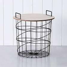 Wire Side Table Adairs Kids Lulu Wire Side Table Black Home U0026 Gifts Furniture