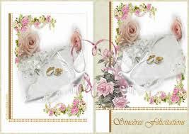 carte mariage ã imprimer carte d invitation pour mariage a imprimer votre heureux