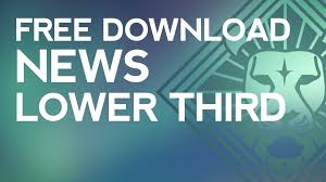 professional news lower third free template download sony vegas