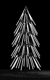 stick christmas tree with lights neon light christmas tree oh christmas tree pinterest