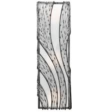 Vertical Wall Sconce Flow 240w03sl 3 Lt Vertical Wall Sconce Steel Varaluz