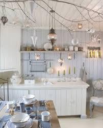 Cottage Chic Kitchen - popular kitchen cabinet shabby chic white my home design journey