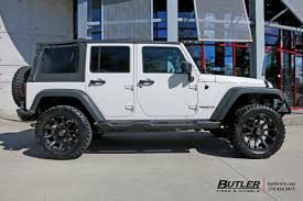 rhino jeep jeep wrangler with 20in black rhino sidewinder wheels exclusively