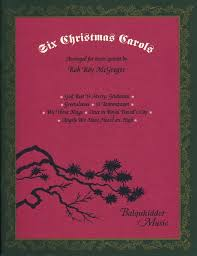 six christmas carols for brass quintet mcgregor u2014 balquhidder music