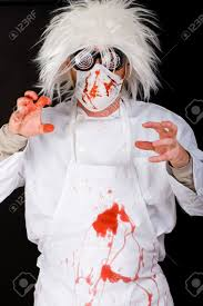 bloody doctor halloween costume bloody doctor after surgery stock photo picture and royalty free