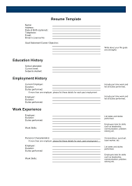 best free resume template free printable resume templates free resume printable templates free