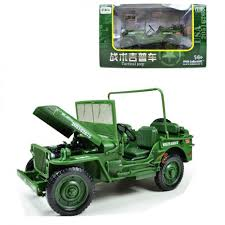 jeep vehicles list c1801t kdw 1 18 scale diecast military army tactical vehicle model