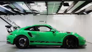 porsche 911 viper green viper green porsche 991 gt3 rs ultimate paint protection detail