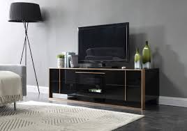 Bronze Table Ls For Living Room Domus Cartier Modern Black Brushed Bronze Tv Stand
