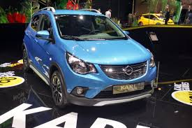 opel karl interior jacked up vauxhall viva rocks revealed at paris auto express
