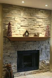 stone fireplace mantel pictures veneer stacked fireplaces shelves