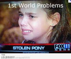 First World Problem Meme - first world problems the first world petty bourgeoisie and the