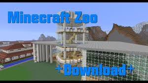 La Zoo Map Zoo Minecraft Map Download Youtube