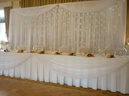 wedding backdrop lights 20ft 10ft white wedding backdrop wih beautiful swags with led lights
