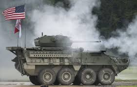 military transport vehicles watch the army stryker cannon and missile upgrades business insider