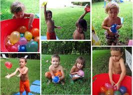 backyard water balloon games home outdoor decoration