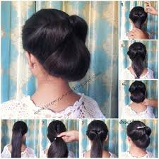 formal low bun indian beauty touch hair pinterest low buns