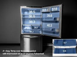 lg bottom freezer french door refrigerator lg ldc24370st review cnet