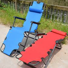 Folding Chair Bed Best Quality 178 61 30cm Portable Metal Oxford Cloth Folding