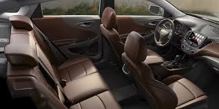 family car interior the 2017 chevrolet malibu is a fan and dealer favorite blog detail