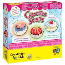 amazon com creativity for kids bath time bakery cupcake soaps