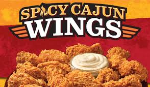 popeyes serves up spicy cajun wings in time for football season