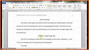 Resume Heading Examples 8 Apa Heading Example Dentist Resumes
