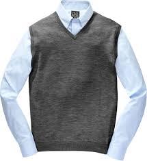 mens sweater vests s big sweaters v necks more jos a bank