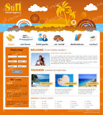 7 best images of travel website templates travel website