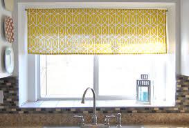 Yellow Kitchen Curtains Stimulating Curtains With Valance Images Stunning Kitchen Valances