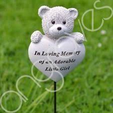 baby grave ornaments and memorials ebay