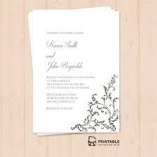 free wedding invitations free printable pdf invitation template editable texts print at