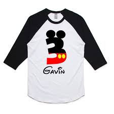 mickey mouse birthday shirt mickey mouse birthday boy mickey birthday raglan shirt mickey