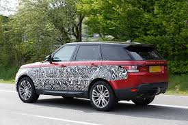 range rover sport interior 2017 2017 range rover sport facelift spied inside u0026 out autoevolution