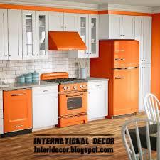 Kitchen Cabinet Designs 2014 Interior Design 2014 Contemporary Orange Kitchen Cabinets Designs