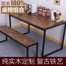 bureau fer forgé table en fer forgé personnalisée conférence de bois millésime bureau
