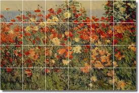 hassam garden wall mural bedroom mural tiles residentia hassam garden wall mural bedroom mural tiles residential decor